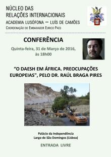 Nucleo relações internacionais AL - 31 de Março
